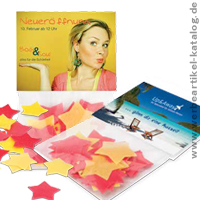 Badekonfetti, originelle Giveaways