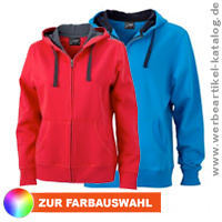 Premium Sweat-Jacke mit Bionic®-Finish - modische Werbejacke für Corporate Fashion.