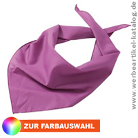 Triangular Scarf, multifunktionelles Werbeartikel Dreiecks Tuch