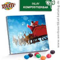 Adventskalender mit Druck - XS Adventskalender M&M´s