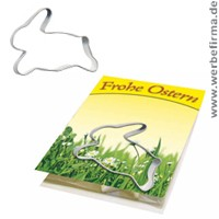 Give Aways f�r Oster, Backf�rmchen Osterhase mit Druck