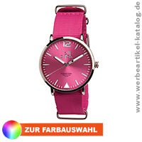 Lolliclock Fashion, Werbemittel Armbanduhr in Ihrem Corporate Design.