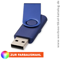 USB Stick Rotate Metallic - USB Stick mit Ihrem Logo per Druck Doming.