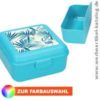Vorratsdose Cube deluxe - Werbeartikel Brotzeitdose Made in Germany.