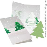 ausgefallene weihnachtenskarten mit werbung im. Black Bedroom Furniture Sets. Home Design Ideas