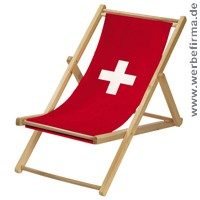 fussball liegestuhl schweiz mit bedruckung. Black Bedroom Furniture Sets. Home Design Ideas