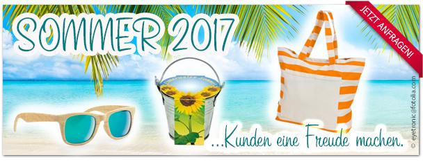 Werbeartikel, Kundengeschenke für den Sommer